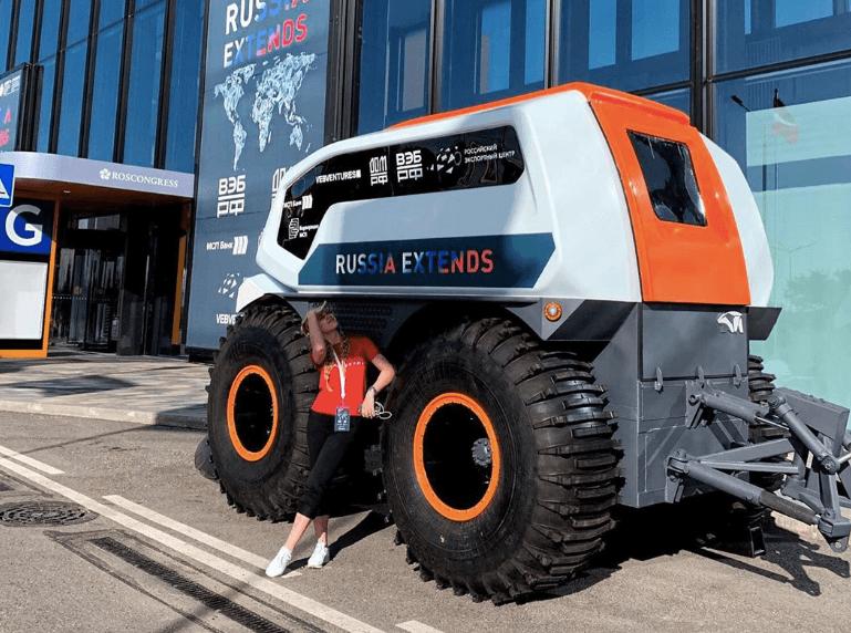 Интернет-провайдер в Красноярске рассказывает: Выпущен первый российский вездеход, управляемый без водителя